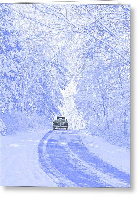 Winter Splendor Greeting Card