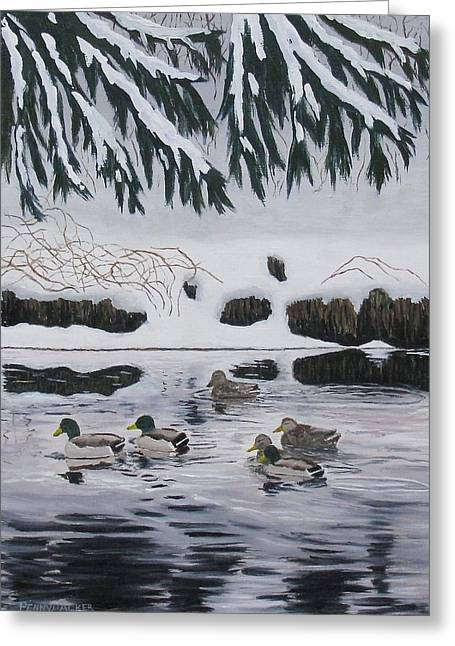 Winter Tranquility Greeting Card