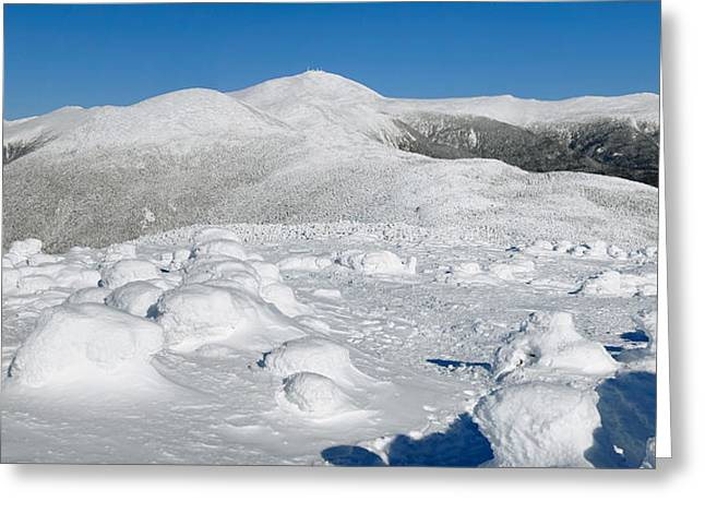 Winter View From Mount Pierce Greeting Card