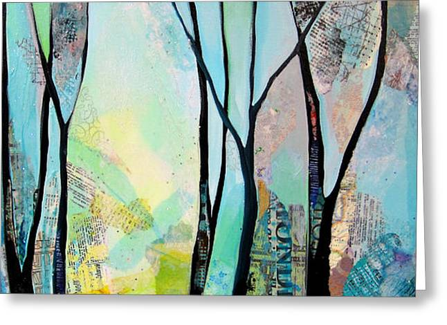 Winter Wanderings I Greeting Card by Shadia Derbyshire