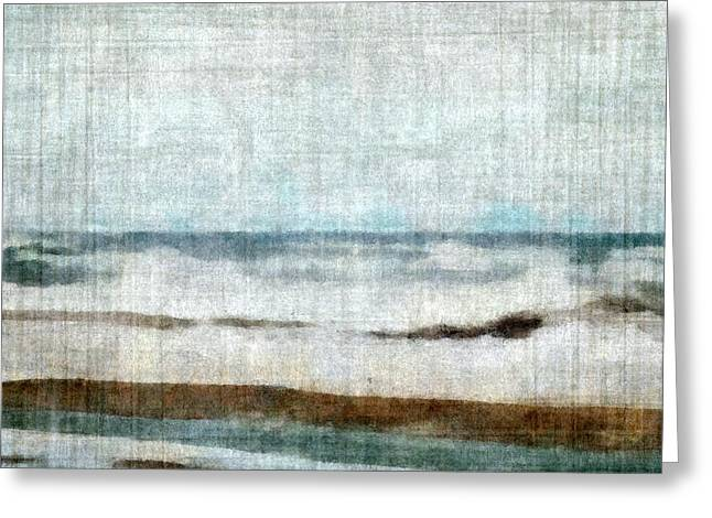 Winter Waves Greeting Card by Michelle Calkins