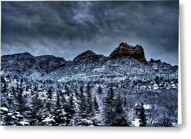 Winter Wonder Greeting Card by Bill Cantey