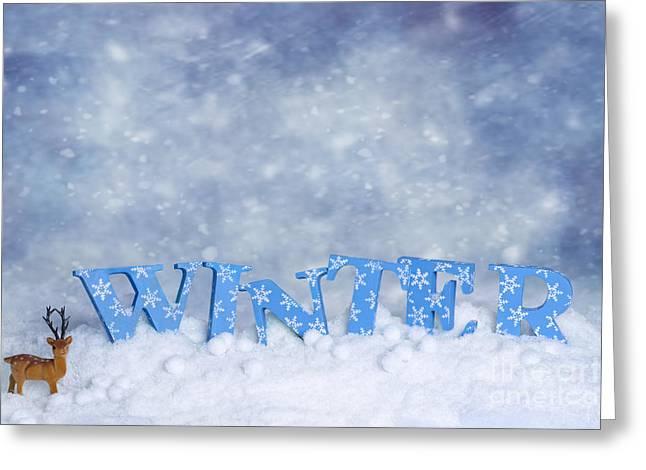 Winter Wonderland Greeting Card by Amanda Elwell