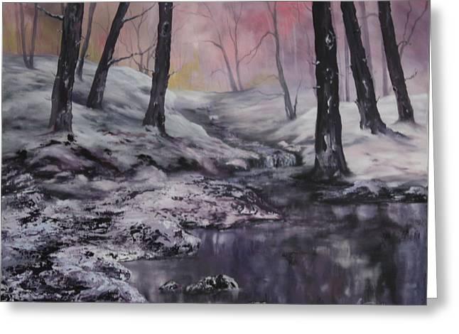 Winter Wonderland Greeting Card by Jean Walker