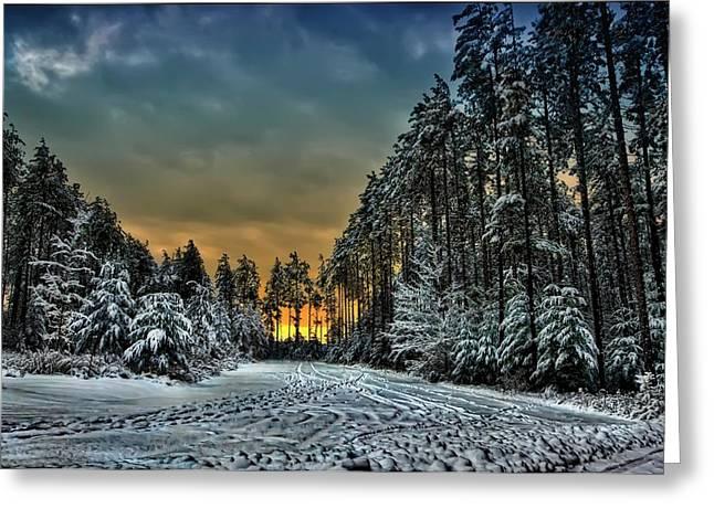 Winter Wonderland Greeting Card by Jeff S PhotoArt