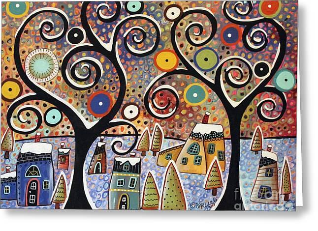 Winter Wonderland Greeting Card by Karla Gerard