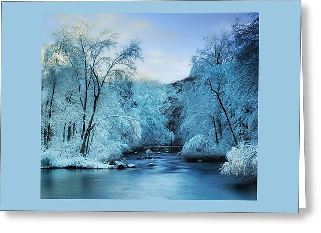 Winter Wonderland Greeting Card by Thomas Schoeller