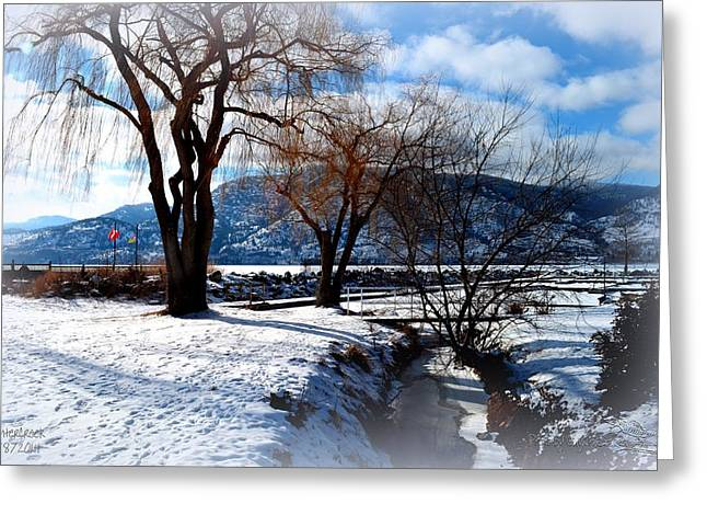 Wintercreek 2 2/8/2014  Greeting Card