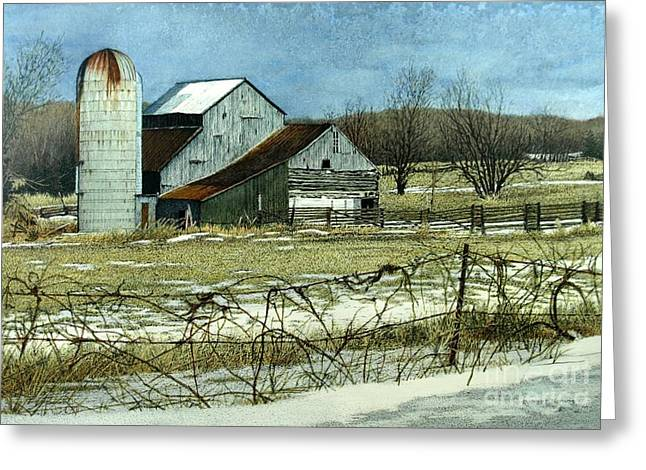 Winters End Prince Edward County Greeting Card