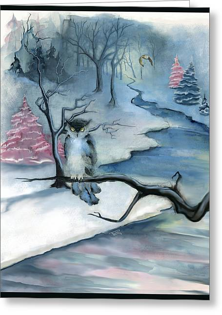 Winterwood Greeting Card