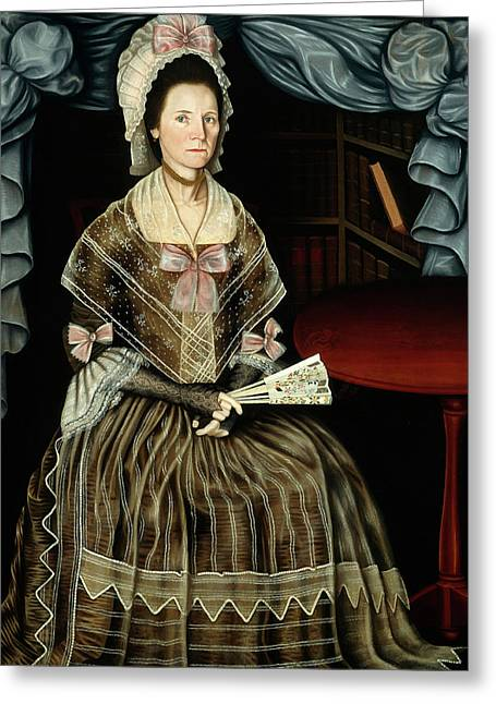 Winthrop Chandler, Mrs. Samuel Chandler, American Greeting Card