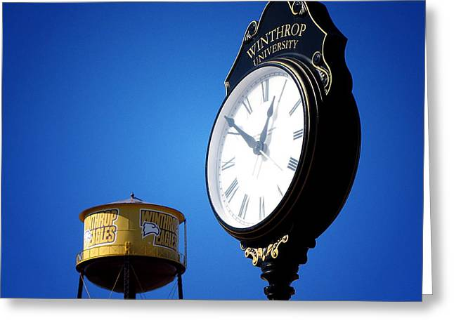Winthrop Time Greeting Card by Greg Simmons