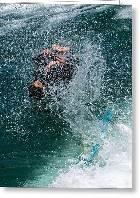 Wipe Out Greeting Card by Classic Visions