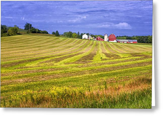 Wisconsin Dawn Greeting Card