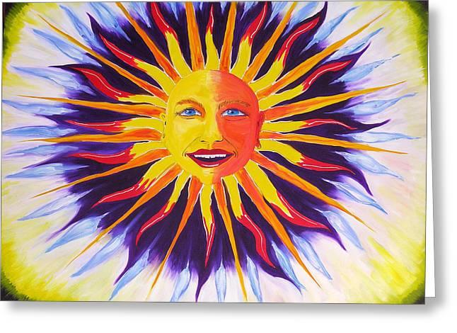 Wisdom Sun Greeting Card