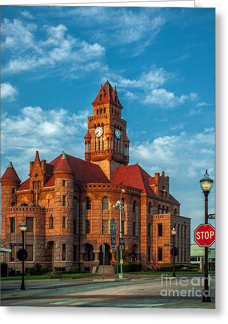 Wise County Courthouse Greeting Card