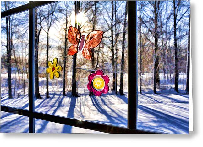 Greeting Card featuring the photograph Wishing For Spring 1 by Mark Madere
