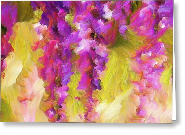 Wisteria Dreams Greeting Card