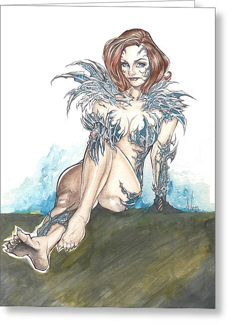 Witchblade Greeting Card