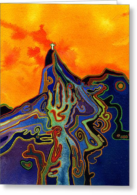 Witchcraft In Brazil Greeting Card by David Klaboe