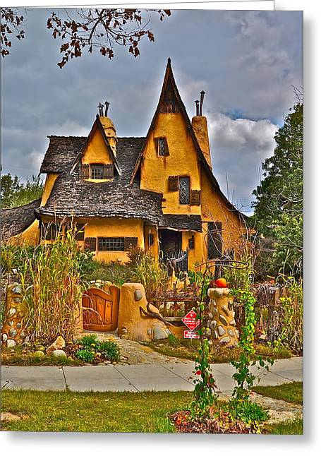 Witches House Greeting Card by Joe  Burns