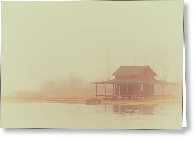 Within The Fog Greeting Card by Karol Livote