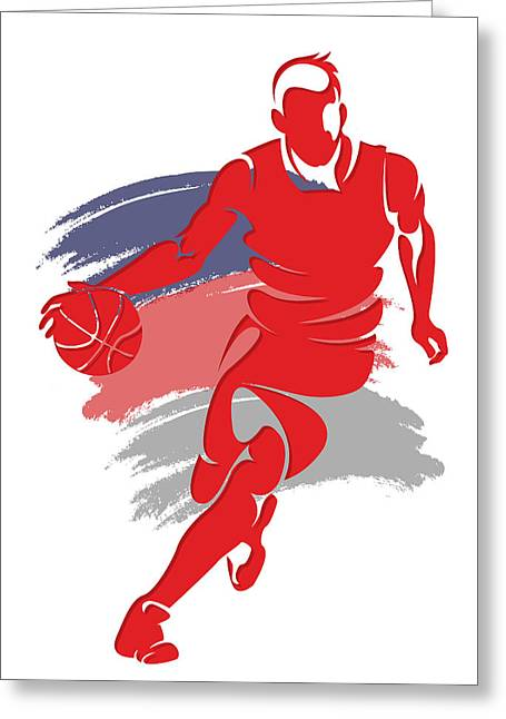 Wizards Basketball Player6 Greeting Card