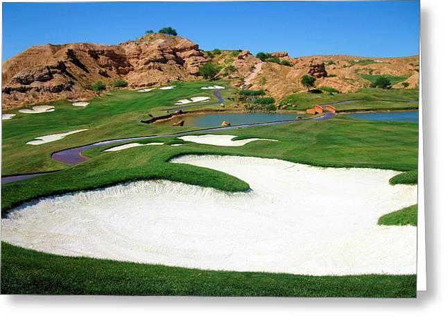 Wolf Creek Golf Club Hole #9 Greeting Card