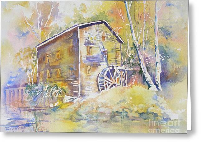 Wolf Creek Grist Mill Greeting Card