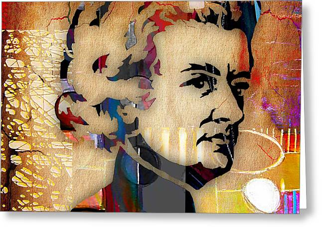 Wolfgang Amadeus Mozart Collection Greeting Card