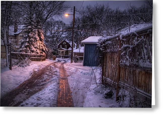 Wolseley Winter Greeting Card by Bryan Scott