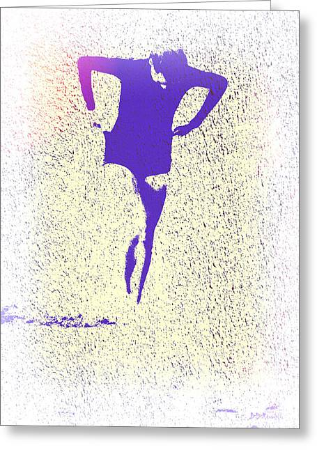 Woman Emerging -- Version K Greeting Card by Brian D Meredith