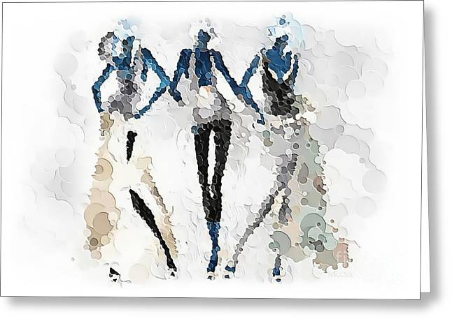 Women 501-11-13 Marucii Greeting Card
