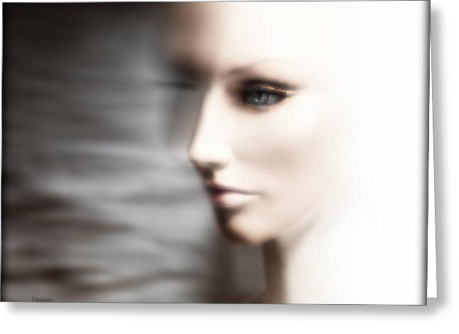 Women Are From Venus - Men Are Aliens  Greeting Card by Steven Digman
