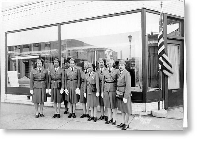 Womens Defense Corp Of America Greeting Card