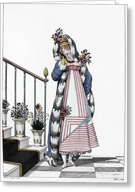 Women's Fashion, C1814 Greeting Card by Granger