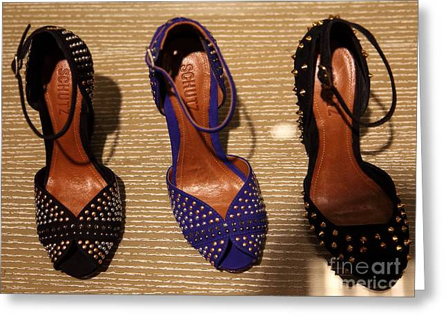 Women's Shoes - 5d20649 Greeting Card