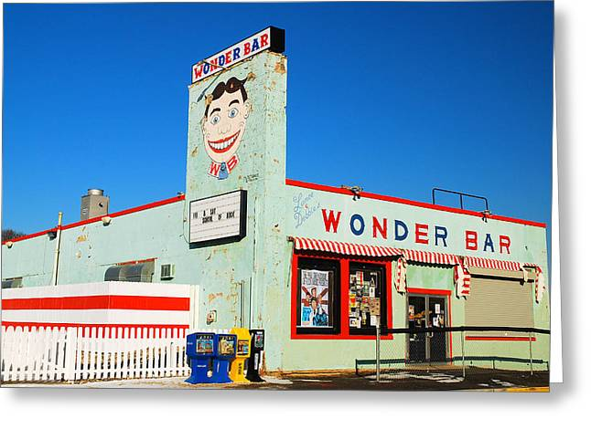 Wonder Bar Asbury Park Greeting Card by James Kirkikis
