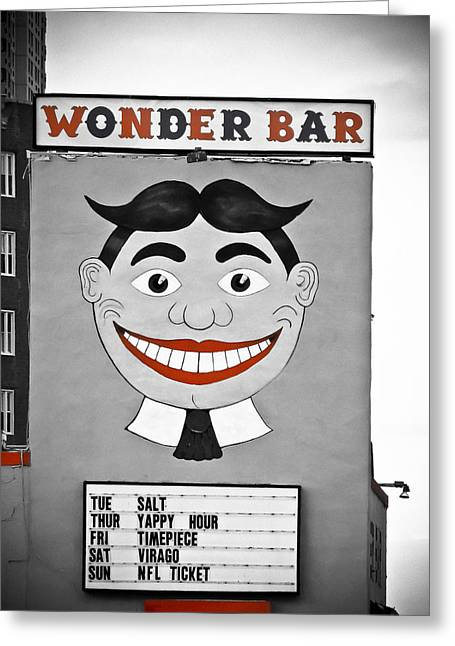 Wonder Bar Greeting Card by Colleen Kammerer