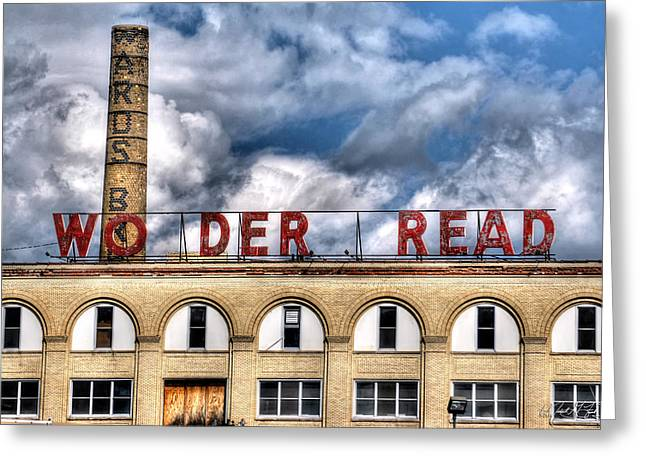 Wonder Bread Factory In Buffalo Ny Greeting Card by Michael Frank Jr