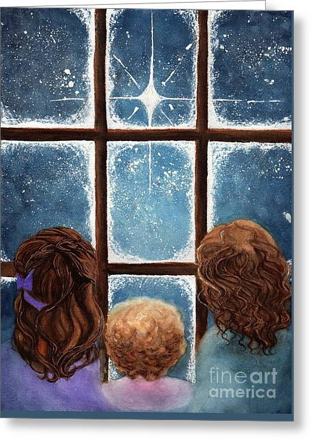 Wonder Of The Night Greeting Card