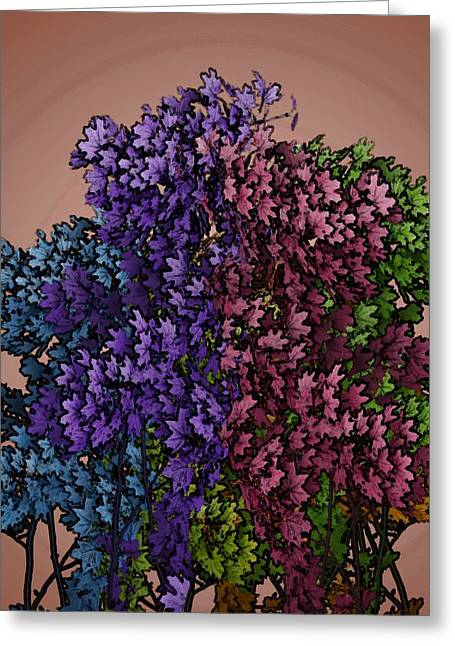 Wonderful Colors 1 Greeting Card by Pepita Selles