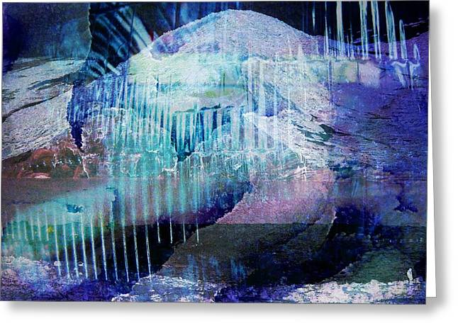 Wonderfully Cold Greeting Card by Shirley Sirois