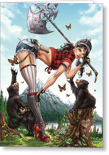 Wonderland 08c Greeting Card by Zenescope Entertainment
