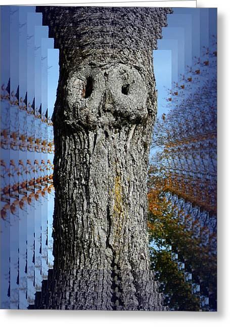 Woo Tree Greeting Card