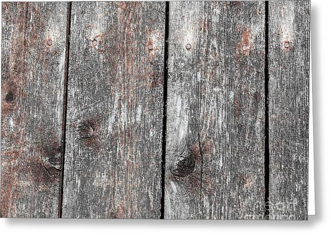 Wood II Greeting Card by Bruce Stanfield