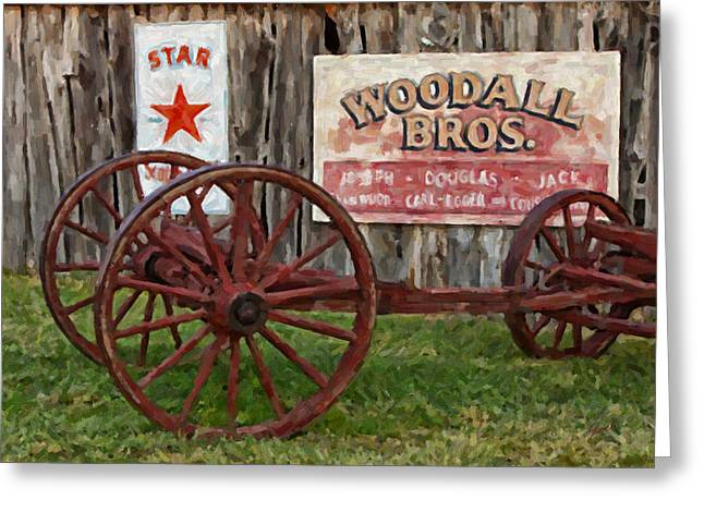 Woodall Greeting Card by Jack Milchanowski