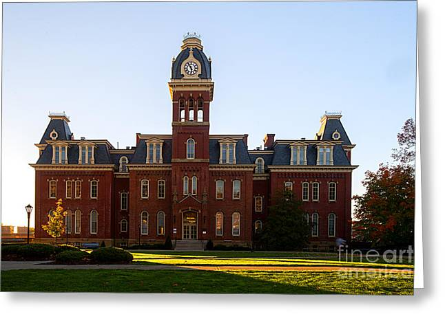Woodburn Hall Late Afternoon Sun Greeting Card