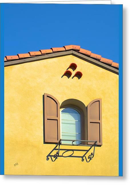 Woodbury Windows No 1 Greeting Card