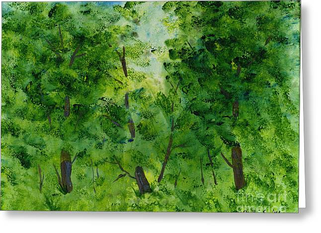 Woodland Haven Greeting Card